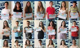 El Ayuntamiento de Quart de Poblet entrega los IX Premios el mérito escolar