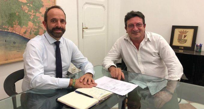 La Diputació dona suport a la candidatura de l'historiador Vicent Gavarda als Premis 9 d'Octubre