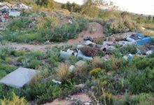 Dos vertederos de amianto en una zona natural de Picassent ponen en riesgo el ecosistema