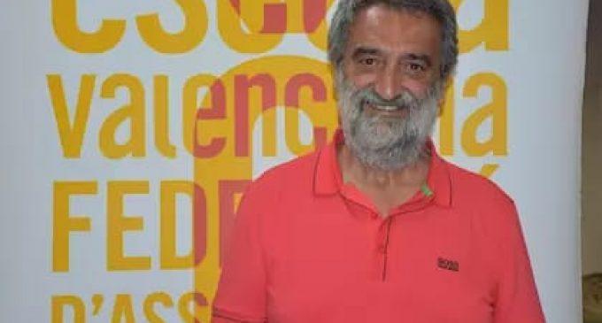 """Natxo Badenes, president d'Escola Valenciana: """"el plurilingüisme és l'únic ensenyament que garanteix un millor aprenentatge"""""""