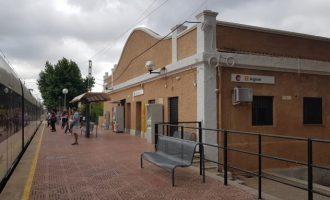 La Generalitat rehabilitará el edificio de la estación de Alginet de Metrovalencia