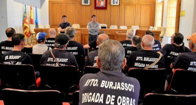 Burjassot publica la convocatòria per a la constitució de diferents borses de treball temporal per a la Brigada d'Obres