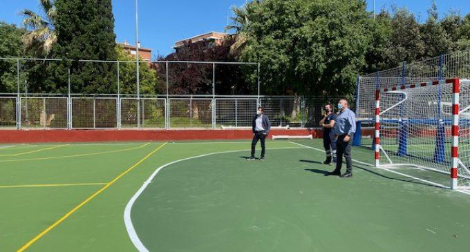 Burjassot obri els espais de joc, les engrunsadores, les pistes multiesportives i les zones esportives dels parcs
