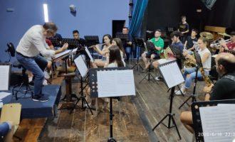 La banda CIM de Xirivella vuelve a los ensayos grupales