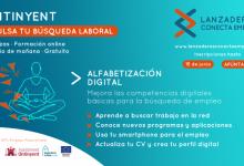 """Últims dies per a apuntar-se a """"Alfabetització Digital"""", nou programa online d'orientació laboral"""