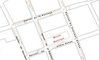 Xirivella recupera el mercadillo con direcciones únicas y rotondas para usuarios