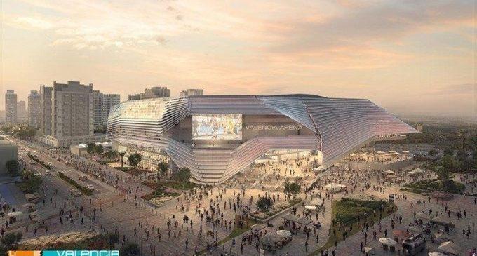 L'Ajuntament dóna llum verda al València Arena amb la concessió a Licampa de la parcel·la on anirà el pavelló