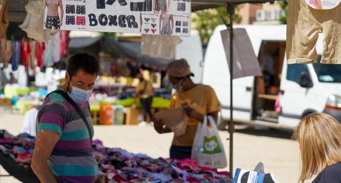 Comerç prepara la tornada a l'activitat dels Mercadets de barri per al 6 de juliol