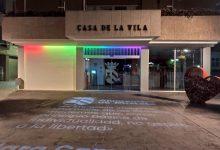 Mislata s'il·lumina amb Orgull per a celebrar el 28J