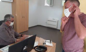 Les mascaretes infantils, novetat del nou repartiment massiu de mascaretes Tèxtil Ontinyent