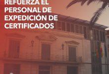 Massamagrell impulsa l'expedició de certificats electrònics