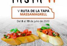 Massamagrell celebrará la Ruta de la Tapa 2020