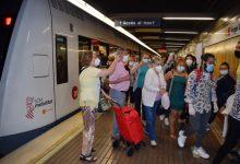 Metrovalencia registra un augment de viatgers en passar de fase