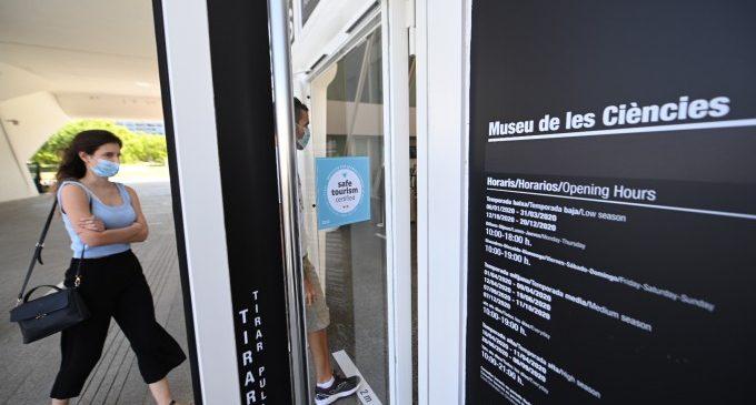 El Museu de les Ciències és el primer centre d'Espanya que obté el segell 'Safe Tourism Certified'