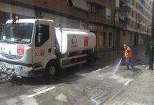 Ontinyent inicia una limpieza y desinfección de todas las calles del casco urbano