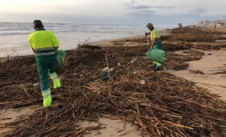 Las playas con 'bandera negra' por contaminación de la Comunitat Valenciana