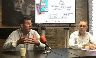 """Jorge Rodríguez: """"Con los cheques Tornem Junts Ontinyent marca el camino también en promoción de la economía local"""""""