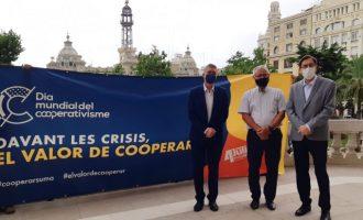 """València se suma al Dia Mundial del Cooperativisme sota el lema """"Davant les crisis, el valor de cooperar"""""""
