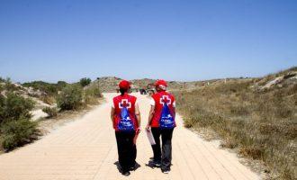 Este sábado comienza la labor del voluntariado socio-ambiental de Cruz Roja en la Devesa