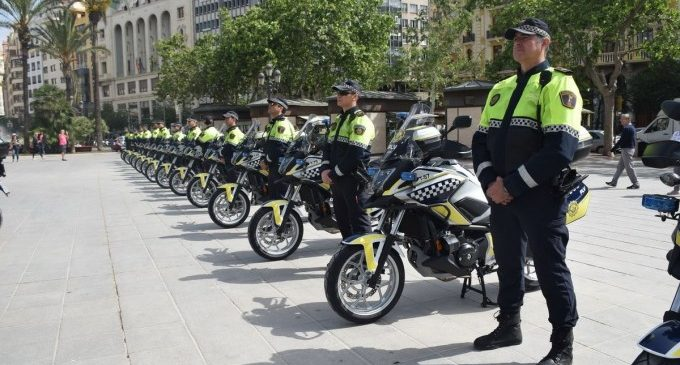 L'Ajuntament de València contractarà personal interí per incidir en el reforç de la plantilla de la Policia local
