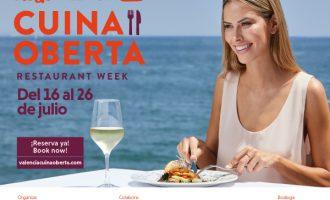 Abiertas las inscripciones al festival gastronómico València Cuina Oberta en una edición especial Verano 2020