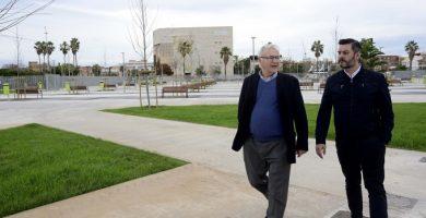 El Mercat de Vell reobri diumenge a la seua nova ubicació, el nou parc de Tarongers i Serradora