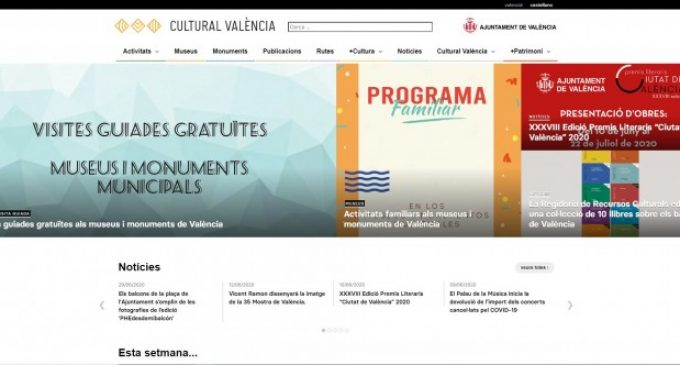 L'Ajuntament de València consolida la cultura municipal a les xarxes socials en un any i mig