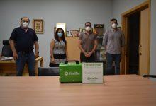 L'empresa EcoGes dona un generador d'ozó a Bonrepòs i Mirambell
