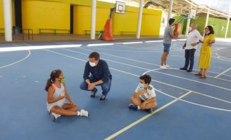 La escuela de verano municipal de Xàtiva presenta una ocupación de entre el 60 % y el 85 %