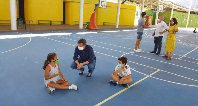 L'escola d'estiu municipal de Xàtiva presenta una ocupació d'entre el 60 % i el 85%