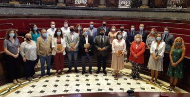 El Govern del Rialto, PP y Cs ratifican el pacto por la reconstrucción de València y Vox se desmarca