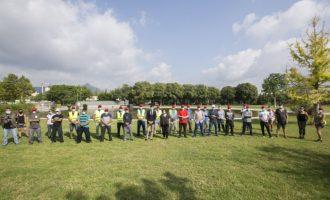39 personas provenientes del paro agrícola trabajan ya en tareas de limpieza, mantenimiento y prevención de incendios en los espacios naturales durante el verano