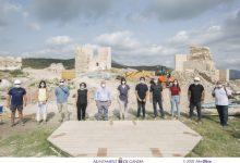 Gandia recupera l'esplendor del Castell de Bairén