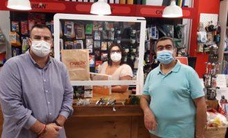 Paterna fa costat al seu comerç adquirint els premis del Concurs de Marcapàgines en negocis locals