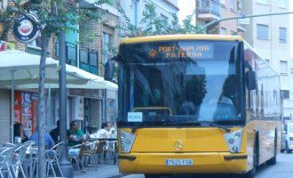 Més de 700 persones utilitzen el Bus de Paterna a la Platja en la primera setmana de servei