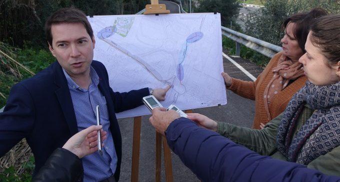 """Ontinyent trau a licitació per 460.000 euros les obres de l'anell """"ciclopeatonal"""" que connectarà IES l'Estació, poliesportiu i nou hospital"""