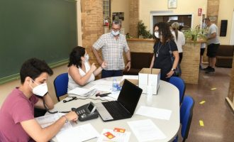 La Regidoria de Benestar Social de Paiporta entrega beques-menjador per a 500 xiquetes i xiquets