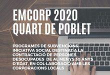 El Ayuntamiento de Quart de Poblet contratará a 6 personas desempleadas de más de 30 años a través del programa EMCORP