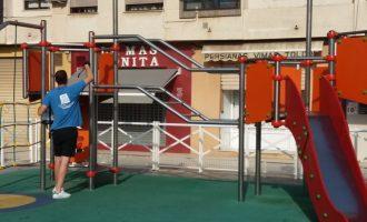 Benetússer, a l'avantguarda en la desinfecció d'espais públics
