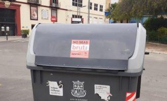 L'Ajuntament de Burjassot posa en marxa una nova acció de conscienciació ciutadana per a la recollida d'escombraries