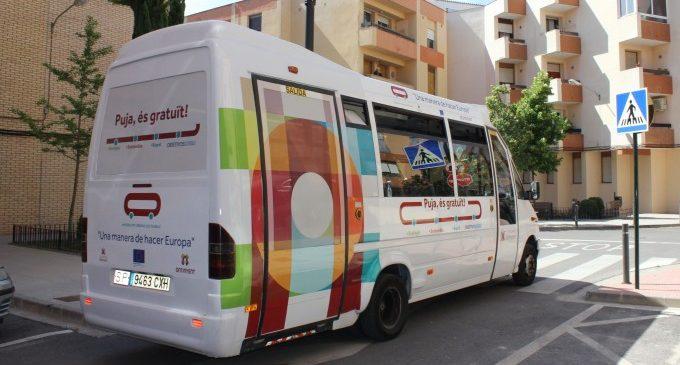 La gratuidad del bus urbano de Ontinyent incrementa un 20% su uso