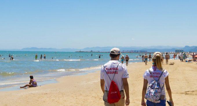 Els valencians ja poden conéixer l'aforament de les platges en temps real gràcies a la web de 'Platges Segures'