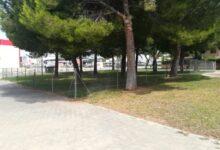 L'Ajuntament de Paterna finalitza la construcció d'un pipi-can de 500 m² en el barri de Mas del Rosari