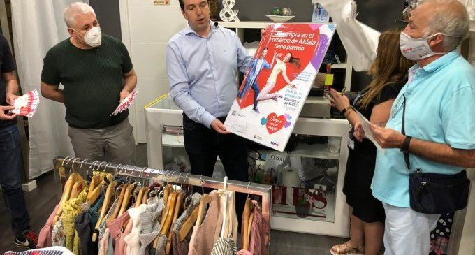 Aldaia promociona el seu comerç local amb el sorteig de 80 targetes de 300 euros per a gastar a les botigues del municipi