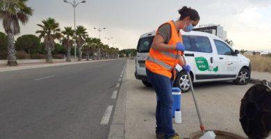 El rastre de Coronavirus en les aigües residuals dels barris més preocupants de València descendeixen de forma significativa