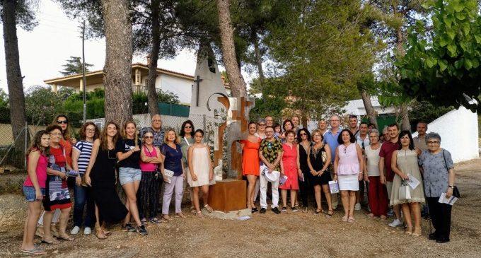 La urbanización Sant Blai se vuelve a convertir en un espacio de arte al aire libre
