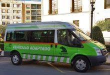 El vehicle adaptat de l'Ajuntament de Paterna aconsegueix els 85 serveis mensuals