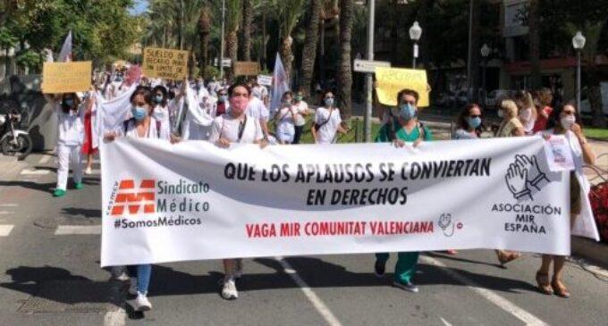 """El Sindicato Médico denuncia que los MIR se han convertido para el sistema """"en mano de obra barata y sometida a permanentes abusos"""""""