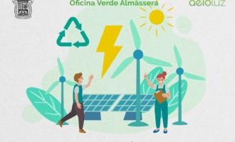 Almàssera realizará talleres gratuitos de sostenibilidad y ahorro energético para la ciudadanía y comercios del municipio