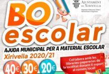 Xirivella destina 116.000 euros al Bono Escolar 2020-21